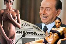 Eskort kızlar Berlusconi'yi yakacak
