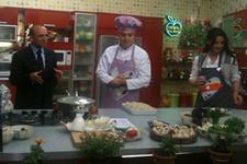 Maliye Bakanı Şimşek mutfağa girdi