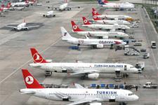 Uçak yolcu sayısında rekor