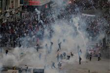 Dünyanın gözü Gezi Parkı'nda