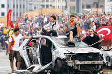 Gezi Parkı için canlı bomba tehdidi