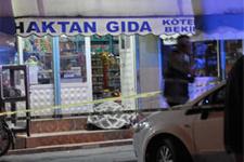 Bakkal'da korkunç cinayet