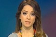 TRT spikerinin canlı yayında zor anları