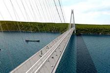 3. Köprü inşaatında en zor iş tamam
