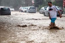 Polatlı'da sele kapılan adam aranıyor