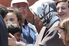 Hayrünnisa Gül'den Soma'da taziye ziyareti