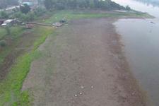 Sapanca gölünde ürküten görüntü