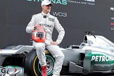 Mercedes Şumi'yi bırakmadı