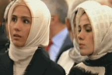 Köşk'te Erdoğan'ı beklerken...
