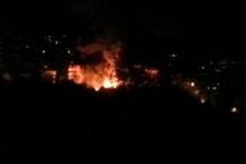 Gazi mahallesinde olaylı gece