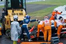 Japonya Grand Prix'inde kaza: Bianchi ağır yaralı