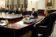 Seçim hükümetiyle ilk MGK toplantısı