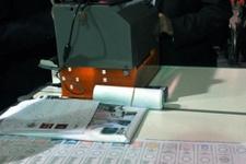 Görme engelliler için oy kullanma cihaz