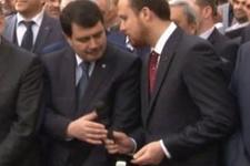 Sunucunun Bilal Erdoğan  hatası Vali'yi şaşkına çevirdi!