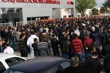 TOFAŞ'ta sendikalı işçiler iş bıraktı!