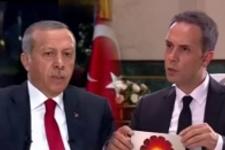 Canlı yayında Erdoğan gafı! Öyle bir şey dedi ki...