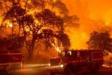 Kaliforniya'da yangınlar yüzünden 13 bin kişi tahliye ediliyor