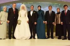 Erdoğan, Abdullah Gül'ün oğlunun nikah şahidi oldu!