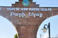 'Ermenice hoşgeldin yazısı kaldırılsın'