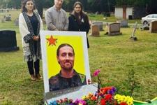 Kobani'de öldü Washington'da gömüldü