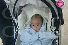 Ali bebeğin ilk görüntüleri