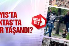 Beşiktaş'ta polisten 1 Mayıs müdahalesi!