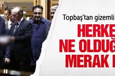 Erdoğan'a havalimanında Topbaş'tan gizemli dosya!