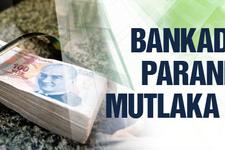 Dikkat! Bankadan paranızı mutlaka alın!