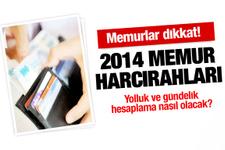 2013-2014 memur harcırah yolluk ve gündelikleri
