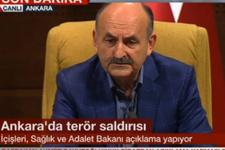 Müezzinoğlu : Ankara 'daki patlamada ölü sayısı 86 'ya yükseldi