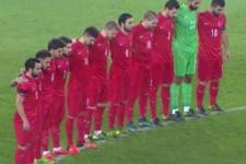 Türkiye-İzlanda maçında ıslıklı protesto