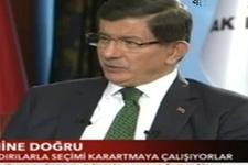 Ahmet Davutoğlu'ndan son seçim anketi sonuçları