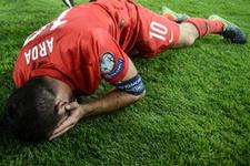 UEFA Arda Turan'ın resmini 'en iyi fotoğraf' seçti