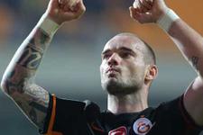 Sneijder'den şaşırtan Benfica açıklaması!