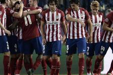 Atletico Madrid güle oynaya kazandı