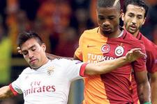 Galatasaray'a 70 saniyede şok