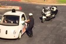 Google'ın aracı polis çevirmesine takıldı!