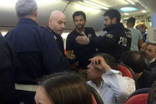 THY uçağında olay çıktı! Polis geldi ve..