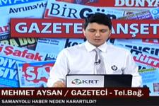 Mehmet Aysan'dan ' Samanyolu Haber neden karartıldı?' cevabı