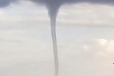 Muğla'da hortum evlerin çatıları uçtu