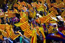 Barcelona'nın bayrak inadı sürüyor