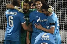 Zenit Olympique Lyon'u yendi 4'te 4 yaptı