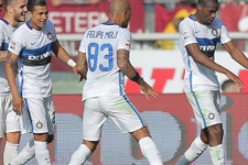 Melo'lu Inter tek  golle zirveye çıktı