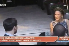 Serenay Sarıkaya ile Çağatay Ulusoy pişti oldu!