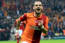 Galatasaray'ın derbi kozu Sneijder