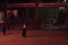 PKK'lılar Hakkari'de okul ve yurt yaktı