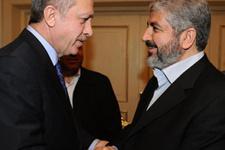 Cumhurbaşkanı Erdoğan Halid Meşal'e görüştü