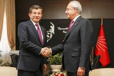 Kılıçdaroğlu, Davutoğlu'nu Meclis'te böyle karşıladı!