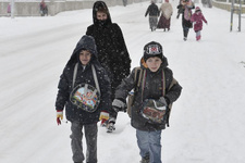 Ankara hava durumu kar vurdu okullar tatil mi?