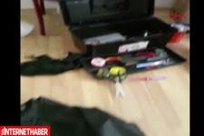 Canlı bombaların evi polis kamerasında
